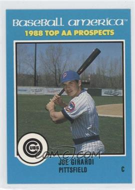 1988 Baseball America Top AA Prospects - [Base] #AA-8 - Joe Girardi