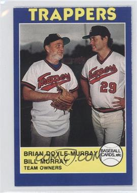 1988 Baseball Cards, Etc Salt Lake Trappers - [Base] #2 - Brian Murray, Bill Murray