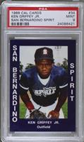 Ken Griffey Jr. (Blue Jersey) [PSA 9 MINT]