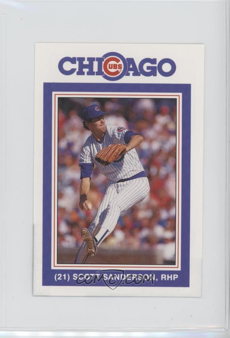premium selection 6260e a7e47 1988 David Berg Chicago Cubs - [Base] #21 - Scott Sanderson