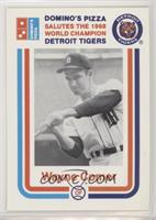1988 Dominos Pizza Salutes The 1968 World Champion Detroit Tigers