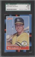 Mark McGwire (Last Line Begins with Olympic) [SGC92NM/MT+8.5]