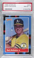 Mark McGwire (Last Line Begins with Olympic) [PSA8NM‑MT]