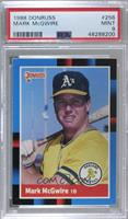 Mark McGwire (Last Line Begins with Southern) [PSA9MINT]