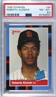 Rated Rookie - Roberto Alomar (Last Line Begins with Organization) [PSA8.…