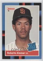 Rated Rookie - Roberto Alomar (Last Line Begins with Yankees)