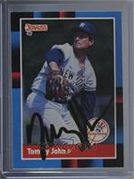 Tommy John [JSACertifiedCOASticker]