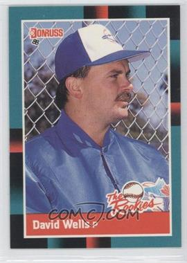 1988 Donruss The Rookies - [Base] #26 - David Wells