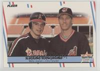 Wally Joyner, Cory Snyder