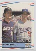 Mike Scott, Orel Hershiser