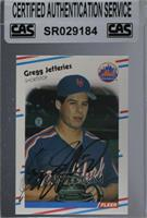 Gregg Jefferies [CAS Certified Sealed]