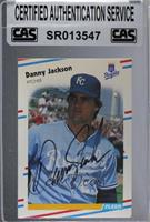Danny Jackson [CAS Certified Sealed]