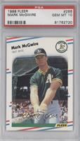Mark McGwire [PSA 10 GEM MT]