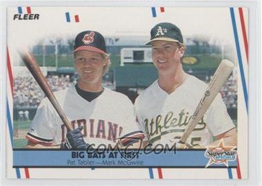1988 Fleer - [Base] #633 - Pat Tabler, Mark McGwire