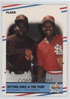 Hitting King & The Thief (Tony Gwynn, Vince Coleman)