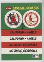 California Angels, St. Louis Cardinals