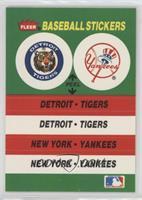 Detroit Tigers Team, New York Yankees Team (Fenway Park)