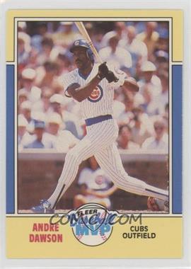 1988 Fleer Baseball MVP - Box Set [Base] #9 - Andre Dawson