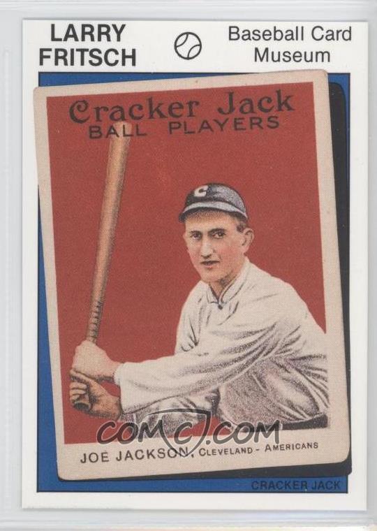 1988 Fritsch Baseball Card Museum Base 4 1914 Cracker