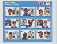 Blue Set - Jackie Robinson, Dwight Gooden, Brooks Robinson, Nolan Ryan, Mike Sc…