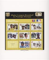 Yellow Set - Roberto Clemente, Cal Ripken Jr., Bob Feller, George Bell, Mark Mc…