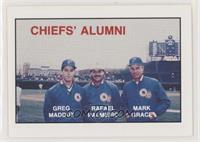 Greg Maddux, Rafael Palmeiro, Mark Grace