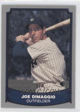 1988 Pacific Baseball Legends - [Base] #100 - Joe DiMaggio