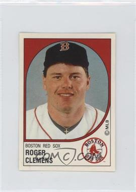 1988 Panini Album Stickers - [Base] #21 - Roger Clemens