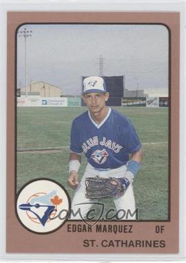 1988 ProCards Minor League - [Base] #2025 - Edgar Marquez