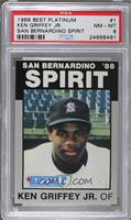 Ken Griffey Jr. /1300 [PSA 8 NM‑MT]