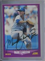Mark Langston [JSA Certified COA Sticker]