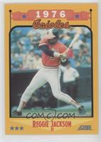 1988 Score Base Reggie Jackson Baseball Cards