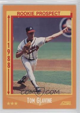 1988 Score - [Base] #638 - Tom Glavine