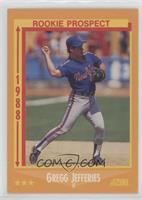 Gregg Jefferies Rookie Card Baseball Cards