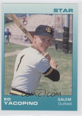 1988 Star Salem Buccaneers - [Base] #24 - Ed Yacopino