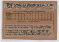 Oddibe McDowell