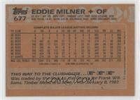Eddie Milner