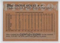 Dickie Noles