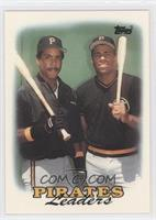 1987 Team Leaders - Pittsburgh Pirates Team