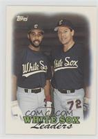 1987 Team Leaders - Chicago White Sox