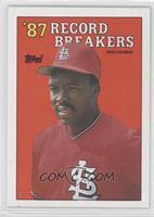 '87 Record Breakers - Vince Coleman