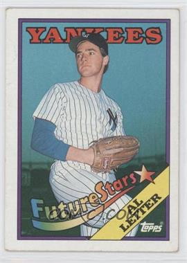 1988 Topps - [Base] #18.2 - Future Stars - Al Leiter (Corrected: Al Leiter Pictured)