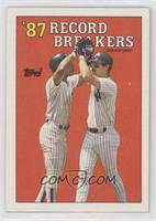 '87 Record Breakers - Don Mattingly