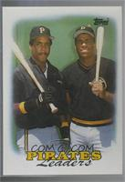 1987 Team Leaders - Pittsburgh Pirates [Noted]