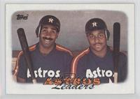 1987 Team Leaders - Houston Astros