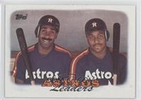 1987 Team Leaders - Houston Astros