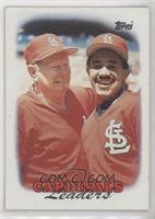 1987 Team Leaders - St. Louis Cardinals [EX to NM]