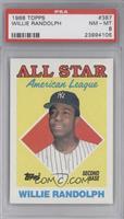All Star - Willie Randolph [PSA8]