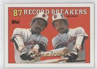 '87 Record Breakers - Eddie Murray (No Black Box on Front)