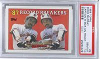'87 Record Breakers - Eddie Murray (Black Box on Front) [PSA10]